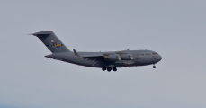 C-17 on Approach to KSTL.