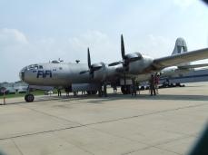 B-29 at KSUS by Myron Lane.