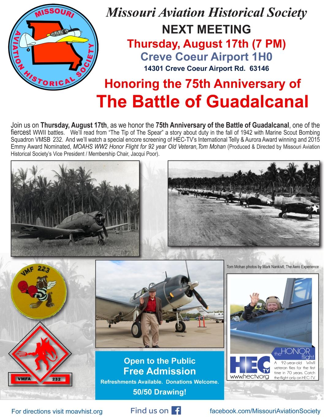 2017817_v175th Battle of Guadalcanal MOAHS mtg Flyer