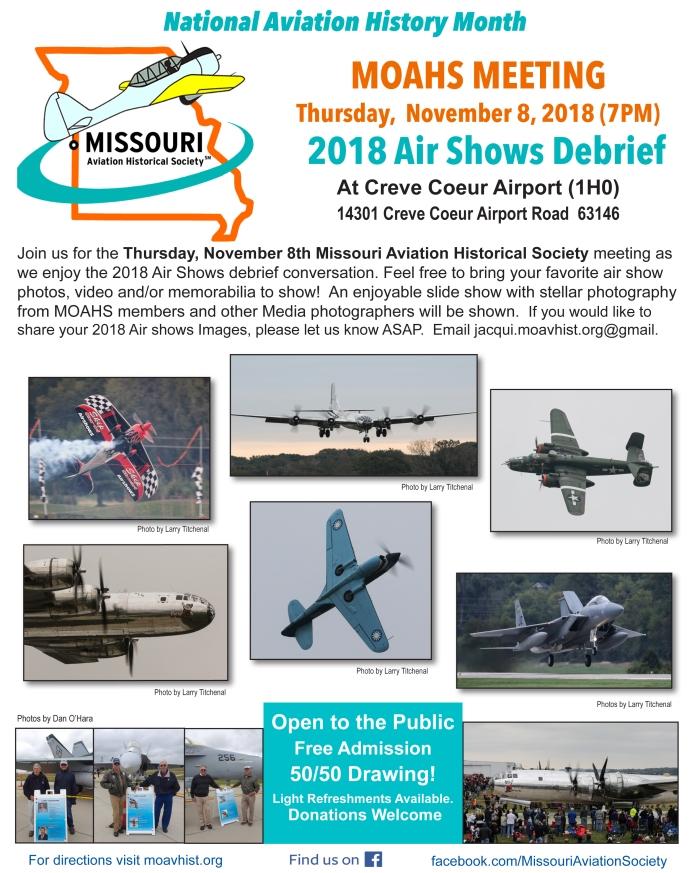 v2 2018 11 8 2018 Airshows Mtg Flyer